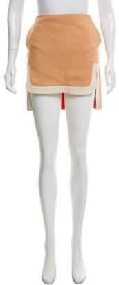Diane von Furstenberg Asymmetrical Mini Skirt