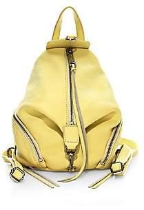Rebecca Minkoff Women's Mini Julian Convertible Leather Backpack