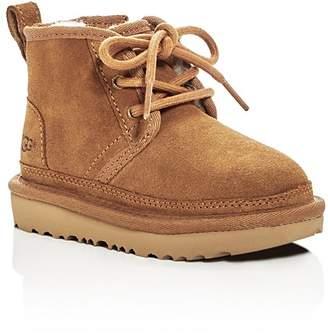 UGG Boys' Neumel II Suede Lace Up Boots - Walker, Toddler
