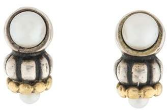 Lagos Pearl Glacier Stud Earrings