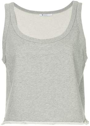 Alexander Wang cropped fitted tank top