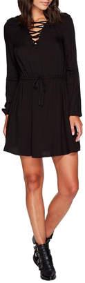 BB Dakota Char Lace Up Dress