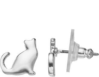 Lauren Conrad Nickel Free Cat Stud Earrings