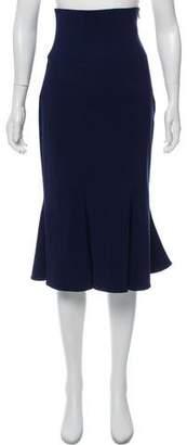 Salvatore Ferragamo Flared High-Rise Skirt