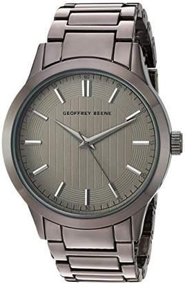 Geoffrey Beene Men's Quartz Metal and Alloy Dress Watch