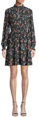 Kate Spade Meadow Smocked Waist Mini Dress