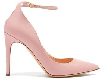 Rupert Sanderson Balance point-toe leather pumps