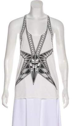 Herve Leger Sleeveless Inna Top