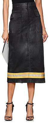 Calvin Klein Women's Twill Cargo Skirt - Black