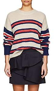 Etoile Isabel Marant Women's Russel Striped Mohair-Blend Sweater - Navy