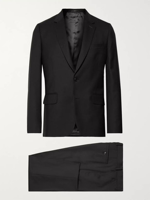 Paul Smith A Suit To Travel In Soho Slim-Fit Wool Suit - Men - Black
