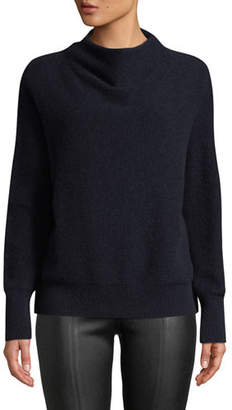 Vince Cashmere Funnel-Neck Pullover Sweater
