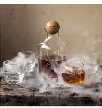 Cathy's Concepts 'Toxic Spider' 6-Piece Glass Decanter Set