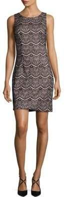 Guess Crewneck Sheath Dress