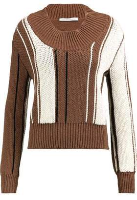 J.W.Anderson Color-Block Cotton-Blend Sweater