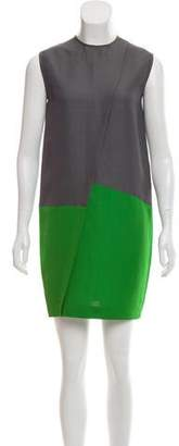 Cédric Charlier Sleeveless Shift Dress