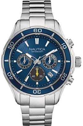 Nautica Men's 'NST 12' Quartz Stainless Steel Casual Watch