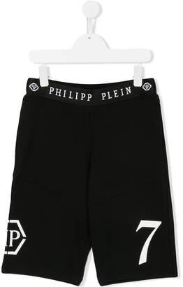 Philipp Plein Junior logo band shorts