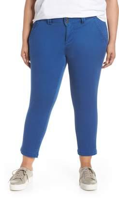Jag Jeans Flora Stretch Cotton Crop Pants