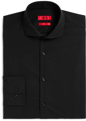 HUGO BOSS HUGO Jason Solid Slim Fit Dress Shirt