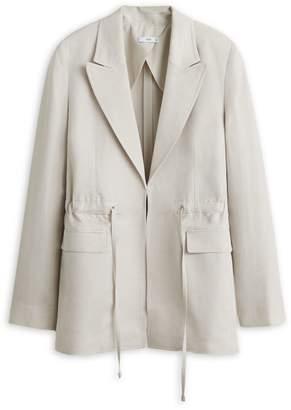 MANGO Brooklyn Notched Jacket