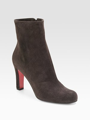 Miss Tack Suede Ankle Boots