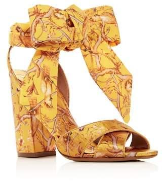 Tabitha Simmons x Johanna Ortiz Women's Connie Wrap High-Heel Sandals