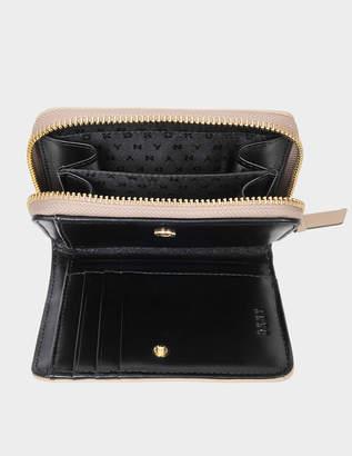 DKNY Diamond Quilt small carryall wallet