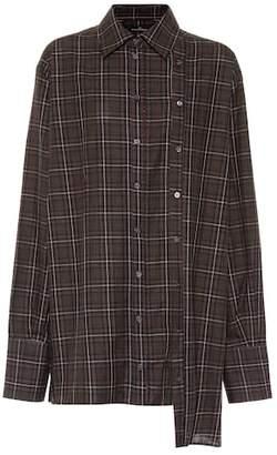 Rokh Checked cotton shirt