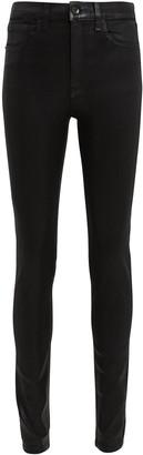 Rag & Bone Black Coated Skinny Jeans