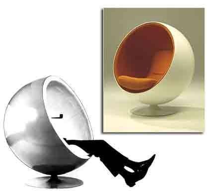 Adelta - ball chair by eero aarnio