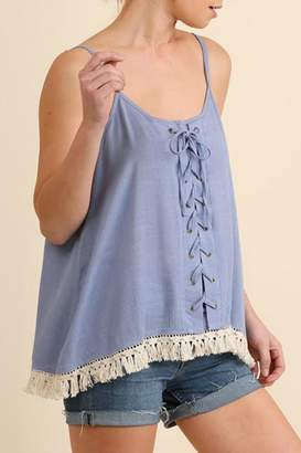 Umgee USA Sleeveless Top