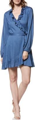 Paige Shawna Ruffle Wrap Dress