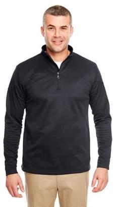 UltraClub Adult Cool & Dry Sport Quarter-Zip Pullover Fleece