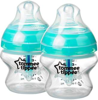 Tommee Tippee Closer to Nature 2-Pack Anti-Colic Bottle, Clear