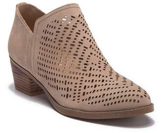 Naturalizer Zenith Perforated Leather Bootie - Multiple Widths Available