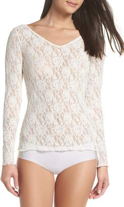 Hanky Panky Signature Lace 2-Way Top