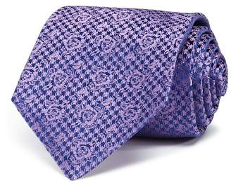 Turnbull & Asser Houndstooth Rose Classic Tie