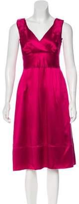 CH Carolina Herrera Silk Midi Dress