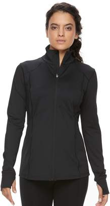 Tek Gear Petite Performance Full-Zip Jacket