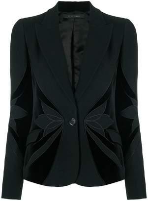 Elie Saab floral blazer