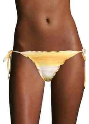 Vix Paula Hermanny Ripple Side-Tie Bikini Bottom