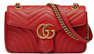 Gucci GG Marmont Small Matelasse Shoulder Bag