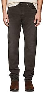 Tom Ford MEN'S CORDED COTTON PANTS-BROWN SIZE 32