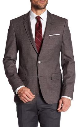 HUGO BOSS Hutsons Two Button Notch Lapel Trim Fit Jacket $595 thestylecure.com
