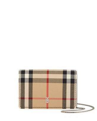 Burberry Jessie Vintage Check Crossbody Bag