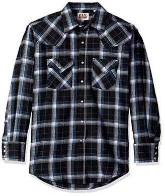 Ely & Walker Men's Tall Size Long Sleeve Western Flannel