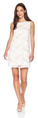 Tiana B Women's Petite a-line lace Dress