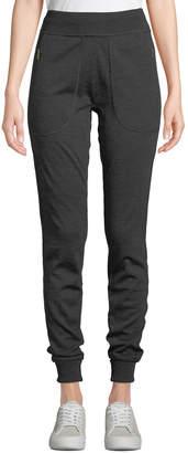 Tomas Maier Zip-Pocket Wool Jogger Pants