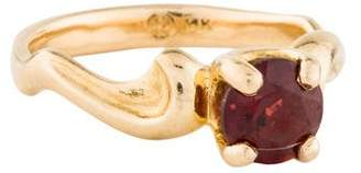 Ring 14K Garnet Cocktail